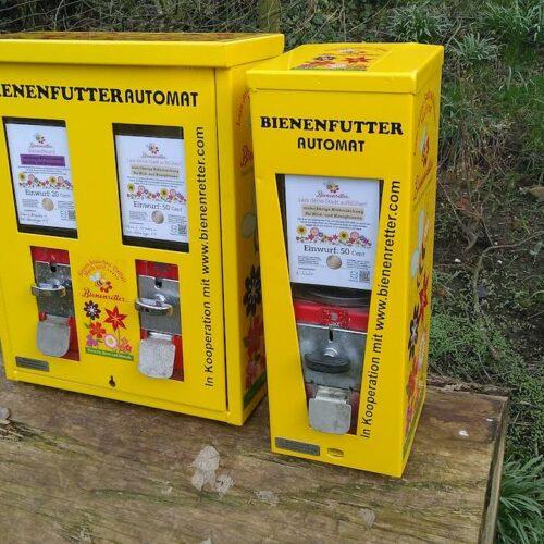 Sonderpreis: Bienenrettung mit ehemaligen Kaugummiautomaten